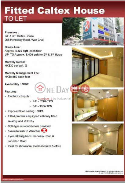 4200sq.ft Office for Rent in Wan Chai