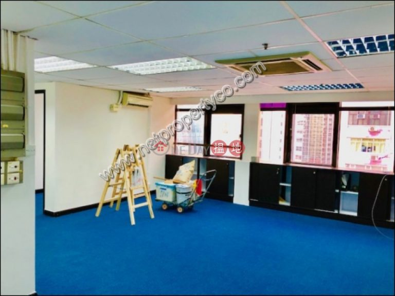 Newly Renovated Office Unit for Rentin Wan Chai