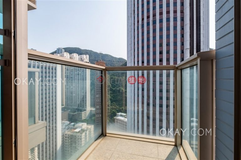 Nicely kept studio on high floor with balcony | For Sale