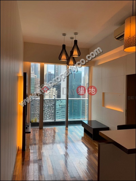 1-bedroom flat with balcony for rent in Wan Chai