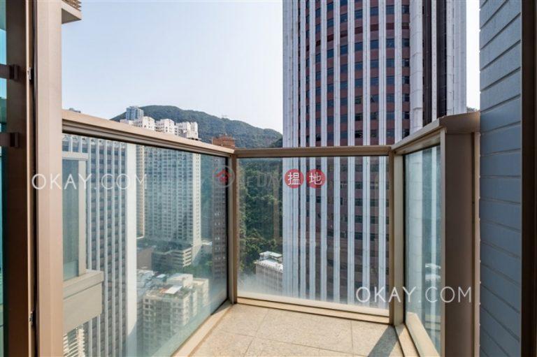 Nicely kept studio on high floor with balcony | Rental